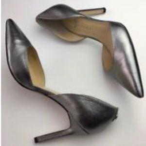 Ivanka Trump silver Stilettos